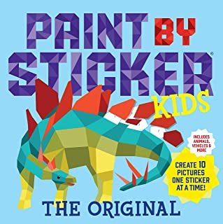 Paint by Sticker Kids, The Original: Create 10 Pictures One Sticker at a Time! (Kids Activity Book, Sticker Art, No Mess A...