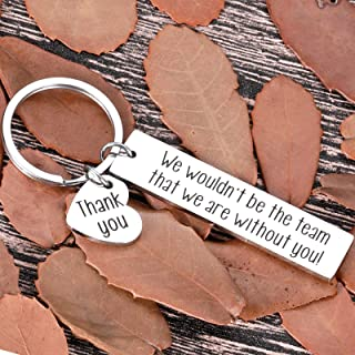 Coworker Keychain Gifts for Employee Boss Appreciation Day Christmas Men Women Office Gifts for Leader Supervisor Mentor B...