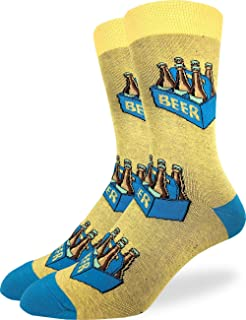 Men's Extra Large Six Pack of Beer Socks, Size 13-17, Big & Tall