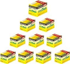 Kodak 400 TMAX Professional ISO 400, 35mm 36 Exposures Black and White Film 10 Rolls