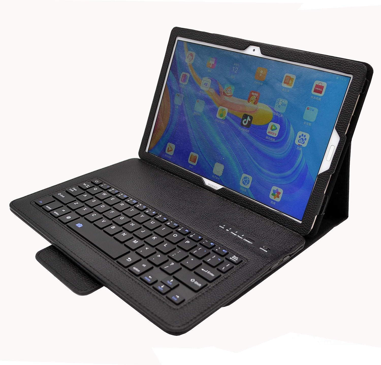 YGoal Teclado Funda para Huawei M6 10.8, [QWERTY Inglés ...