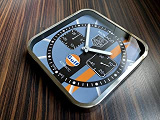 Tag Heuer Monaco Gulf Edition Dealer Showroom Wall Clock