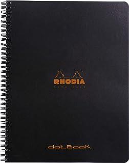 Rhodia notitieboek Dot A4+ (21x31,8 cm) Zwart