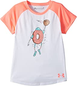 Under Armour Kids - Softball Donut Short Sleeve Tee (Little Kids)