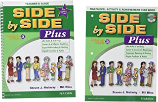 Side by Side Plus TG 3 with Multilevel Activity & Achievement Test Bk & CD-ROM