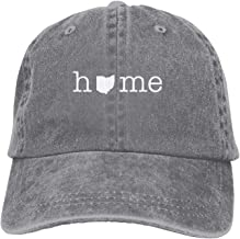Edwards. Home in Ohio State Unisex Adult Adjustable Gym Dad Cap