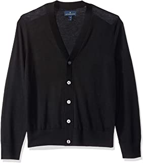 Buttoned Down mens Italian Merino Cashwool Cardigan Sweater