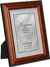إطارات لورانس خشب الجوز 4x6 إطار صورة - تصميم الخرز الذهبي 5x7 198757