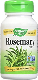 Nature's Way, Rosemary, Leaves, 350 mg, 100 Capsules