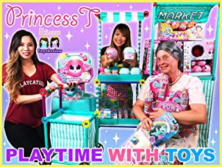 Clip: Princess T Playtime with Toys