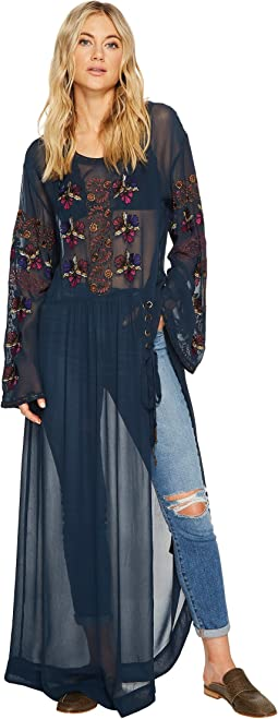 Free People - Floral Maxi Top