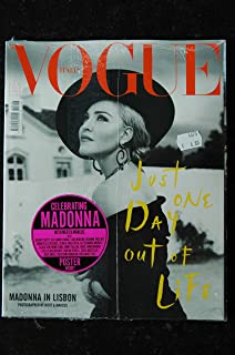 VOGUE ITALIA 816 AGOSTO 2018 COVER MADONNA JUST ONE DAY OUT OF LIFE MADONNA IN LISBON PHOTOGRAPHED MERT & MARCUS + POSTER