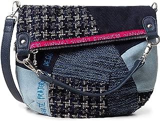Luxury Fashion   Desigual Womens 19WAXAB2BLUE Blue Shoulder Bag   Fall Winter 19