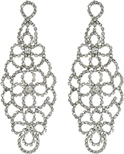 Intricate Cupchain Chandelier Earrings