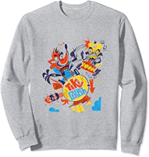 Crash Team Racing Tiki Crash vs. Neo Cortex  Sweatshirt