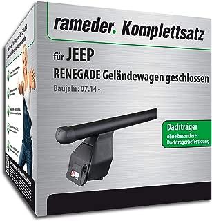 VDP Dachbox JUEASY320 320Ltr schwarz gl/änzend abschlie/ßbar Dachtr/äger//Relingtr/äger LION2 kompatibel mit Jeep Renegade ab 14 BU 5 T/ürer
