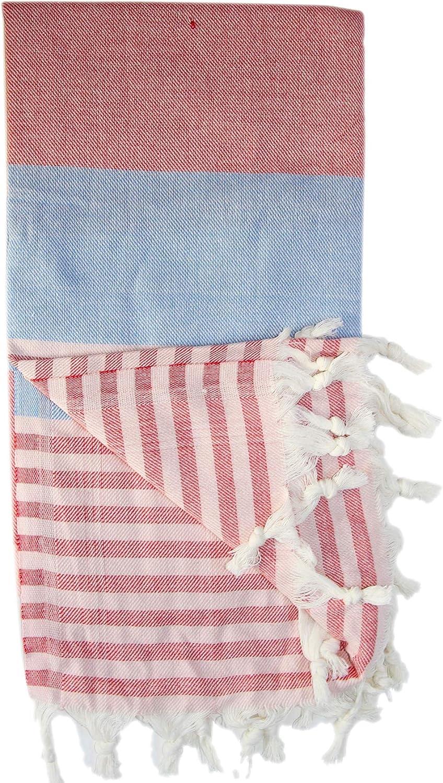 Max 89% OFF Alisveristime Stripe Large discharge sale Turkish Towel Peshtemal 6 Bath Cotton