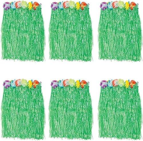 hasta un 70% de descuento B&S FEEL Kid's Kid's Kid's Flowerojo verde Luau Hula Skirts  precio al por mayor