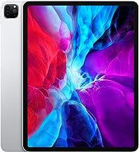 Apple iPad Pro (12.9-inch, Wi-Fi + Cellular, 256GB) - Silver (4th Generation) (2020) (Renewed)