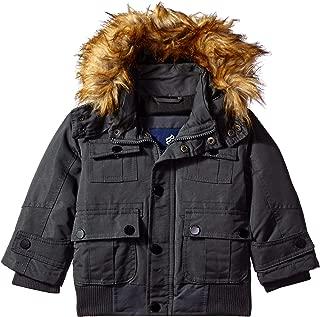 Rocawear Boys' Hooded Bomber Parka Jacket