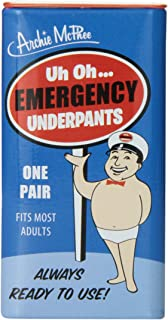 Accoutrements Emergency Underpants