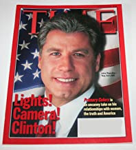 Time Magazine - Primary Colors, John Travolta is Bill Clinton - March 16, 1998