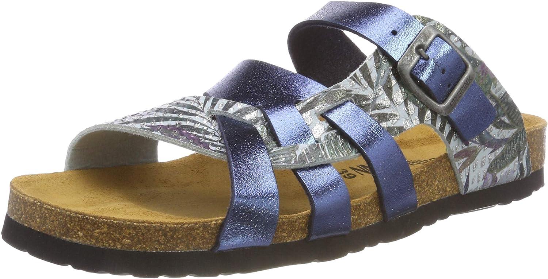 Dr. Brinkmann Womens-Pantolette blue 701141-5