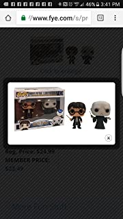 Funko Pop Harry Potter and Lord Voldemort 2-Pack (FYE Exclusive)