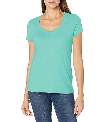 Nautica Easy Comfort Scoop Neck Supersoft 100% Cotton Solid T-shirt