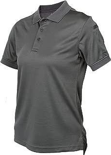 LA Police Gear Women's Anti Wrinkle Tactical Recon Jersey Polo Shirt