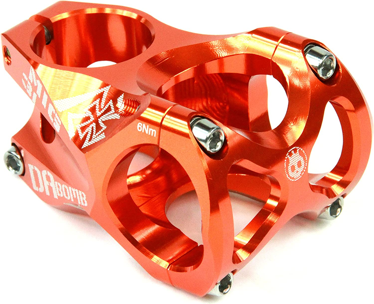 DaBomb MIG31 Stem Forged Aluminum 31.8mm Clamp Dia.  Ext. 45mm  orange