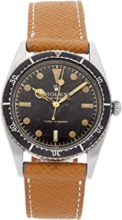Rolex Brevet Turnograph Mechanical (Automatic) Black Dial Mens Watch Turnograph (Certified Pre-Owned)