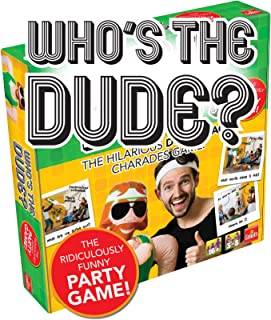 Drumond Park Who's The Dude! The Hilarious Double Act Charade Game
