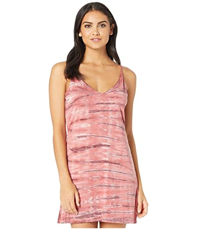 Young Fabulous & Broke Mini Slip Dress (Punch Ikat Wash) Women