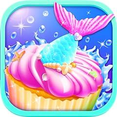 A super fun food-making game Make yummy mermaid desserts like mermaid cupcakes, mermaid macaron, mermaid tail cake, mermaid cookies and mermaid toasts Tons of realistic cooking tools to play: cupcake molds, oven, piping bag, bowls, baking pan, spatul...