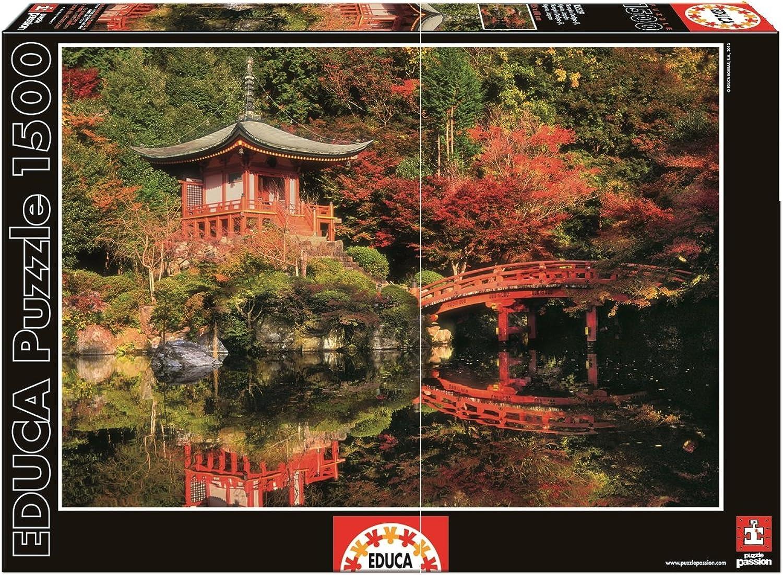 el mejor servicio post-venta Educa Borrás- Puzzle Templo Kyoto Kyoto Kyoto con 1500 Piezas (15529)  diseñador en linea
