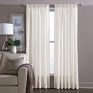 Wamsutta Sheer 95-Inch Window Curtain Panel in Ivory