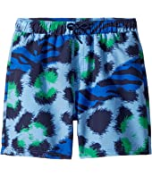 Kenzo Kids - Tiger Print Swim Shorts (Big Kids)