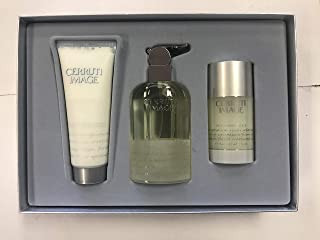 Image by Nino Cerruti: Gift Set - EDT Spray 3.3 oz & Deodorant Stick 2.3 oz & Aftershave Balm 3.3 oz for Men