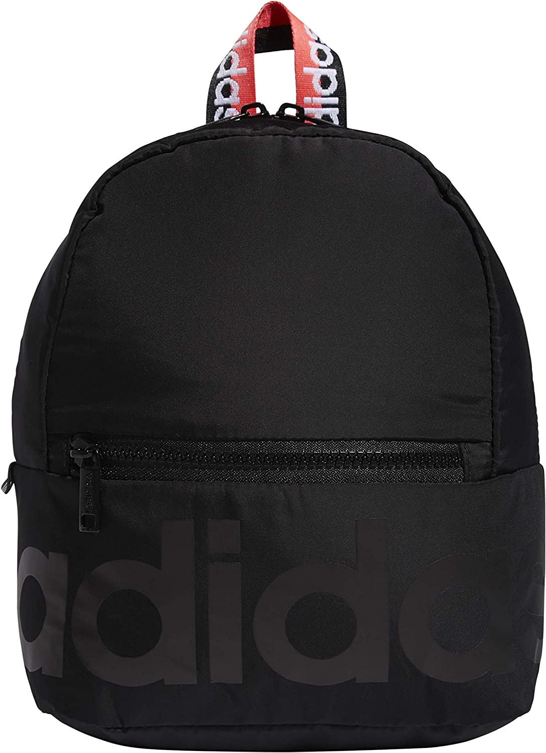 adidas Linear Mini Backpack Black/Signal Pink/White, one size
