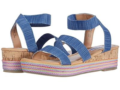 Steve Madden Kids Bandi (Little Kid/Big Kid) (Denim) Girls Shoes