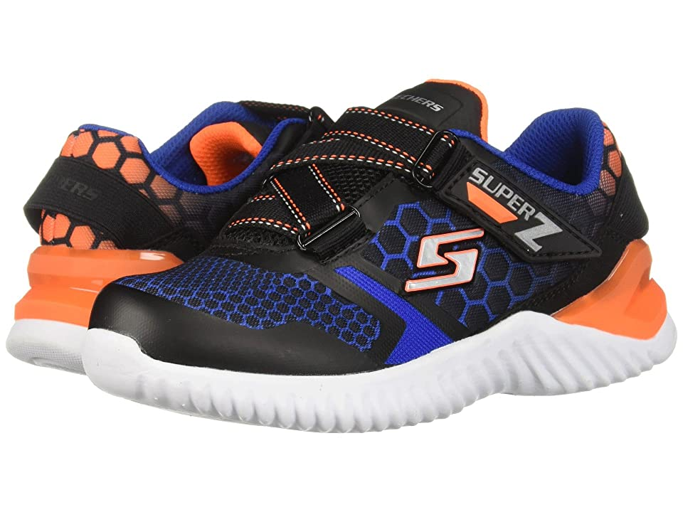 SKECHERS KIDS Ultrapulse (Little Kid/Big Kid) (Black/Blue/Orange) Boys Shoes