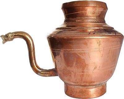 Exotic India Big Sacred Water Pot - Copper