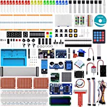 Longruner Ultimate Starter Kit for Raspberry Pi 4 B 3 B+ A+ 2 1 Zero W with RAB Holder, Breadboard, Detailed Tutorials, Python C Language, 224 Items, 22 Projects, Learning Electronics and Programming