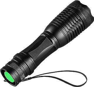 Linterna Ultravioleta Led Linterna UV,Luz Negra UV 2 en 1 con 395nm luz UV,4 modos y resistente a...
