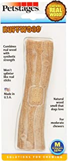 Petstages 491 Ruffwood Wooden Dog Chew Toy, Medium