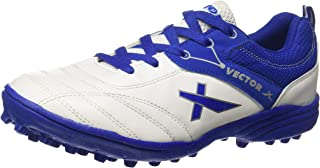 Vector X Blaster, Men's Cricket Shoes, Multicolour (White/Blue), 38 EU