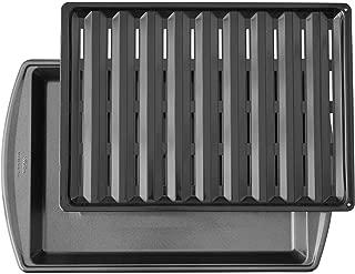 Wilton 17-Inch Nonstick Broiler Pan in Gunmetal