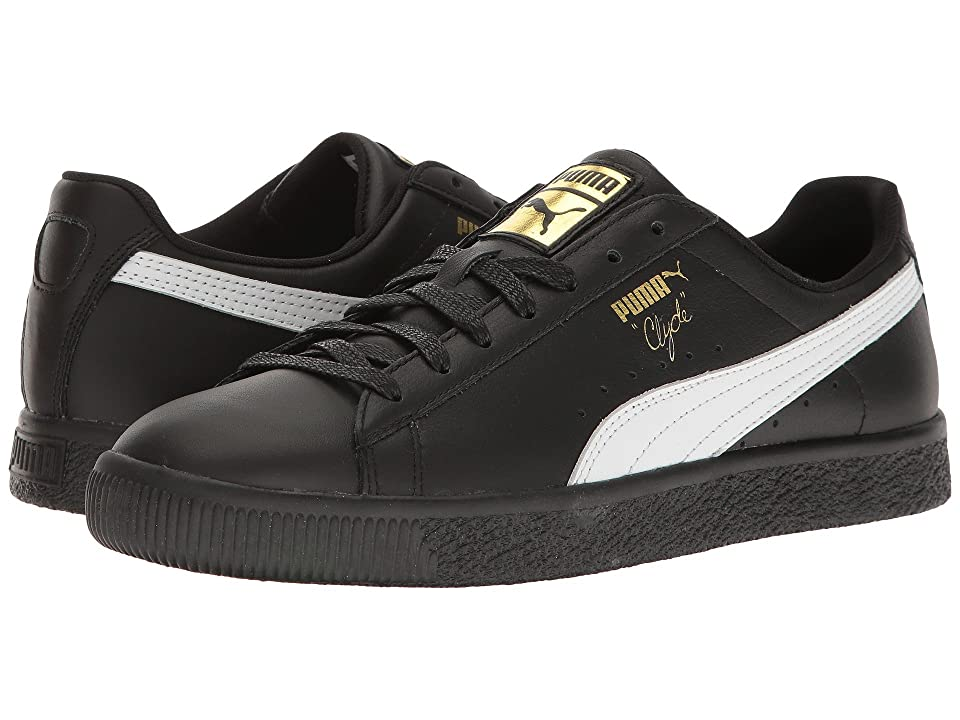 PUMA Clyde Core L Foil (Black/White/Gold) Men