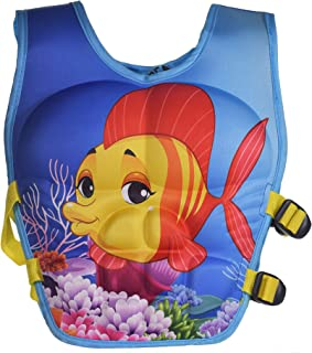 WISHKEY Fish Character Training Life Jacket Swim Aid Floater Life Vest ,Kids Swimming Pool Float for Baby/Infant/Toddler